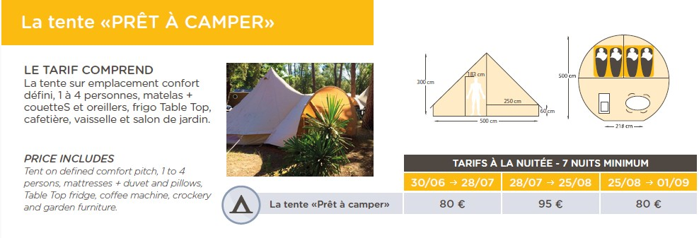 Preise für Camping Le Palace Soulac Sur Mer in Gironde